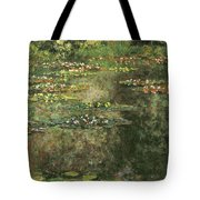 Water Lilies 4 Tote Bag