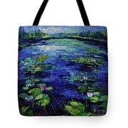 Water Lilies Magic Tote Bag