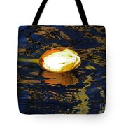 Water Lilly Bud  Tote Bag