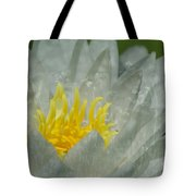 Water Lilly Morph Tote Bag