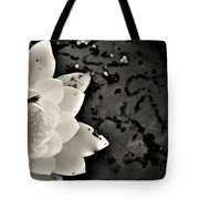 Water Lily And Fly Tote Bag