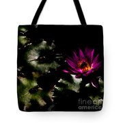 Water Lily At Dusk Tote Bag