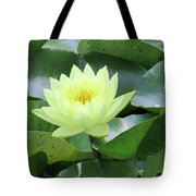 Water Lily - Burnin' Love 14 Tote Bag