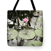 Water Lily Canvas Tote Bag