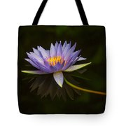 Water Lily Close Up Tote Bag