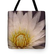 Water Lily Digital Painting Tote Bag