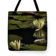 Water Lily Tote Bag by Fabio Giannini