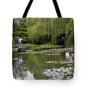 Water Lily Garden Of Monet In Giverny Tote Bag