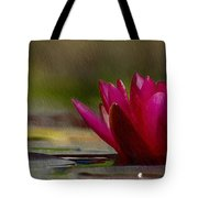 Water Lily - Id 16235-220248-4550 Tote Bag