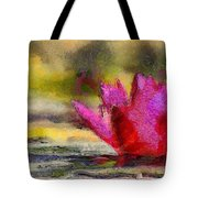 Water Lily - Id 16235-220419-3506 Tote Bag
