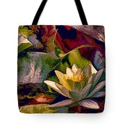 Water Lily In Living Color Tote Bag
