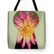 Water Lily Keyhole Tote Bag