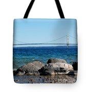 Water Line Sky Line Tote Bag