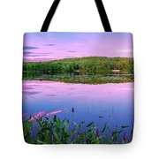Water Loom Pond Tote Bag