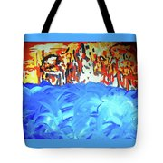 Water Meets Earth Tote Bag