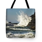 Water Meets Rock Tote Bag