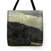 Water Mill At Opwetten Vincent Van Gogh Tote Bag