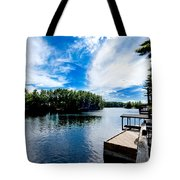 Water Mirrors Sky Tote Bag