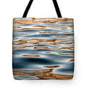 Water Movement- Liquid Gold Tote Bag