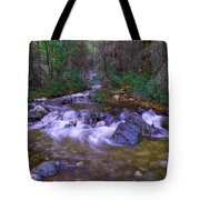 Water Never Tires Tote Bag