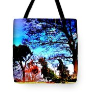 Water Of Leith At Chesser Tote Bag