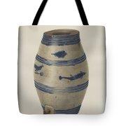Water Or Wine Jug Tote Bag