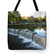 Water Over The Dam Tote Bag