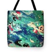 Water Panda Tote Bag