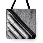 Water Pipes Tote Bag