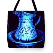 Water Pitcher And Bowl Still Life Tote Bag