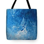 Water Planet Surface Tote Bag