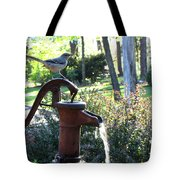 Water Pump Tote Bag