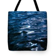 Water Ripples On Surface Tote Bag