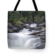 Water Running From The Woods Tote Bag