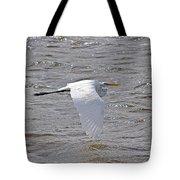 Water Skimming Tote Bag