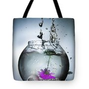 Water Splash  Tote Bag