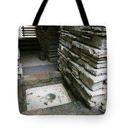 Water Spout Fallingwater  Tote Bag