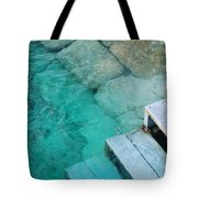 Water Steps Tote Bag