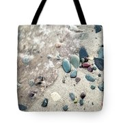 Water Stones Tote Bag