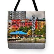 Water Street-toledo Ohio Tote Bag