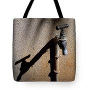 Water Tap Tote Bag
