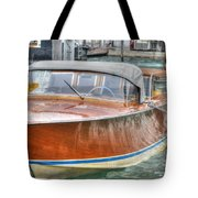 Water Taxi Italy Tote Bag