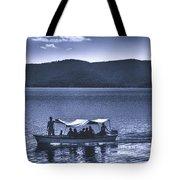 Water Taxi - Lago De Coatepeque - El Salvador Tote Bag