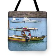 Water Taxis Waiting Tote Bag