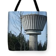 Water Tower Of Lohja  Station Tote Bag