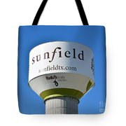 Water Tower - Sunfield Texas  Tote Bag