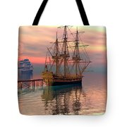 Water Traffic Tote Bag