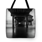 Water Under The Dock Tote Bag