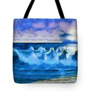 Water Unicorns Tote Bag