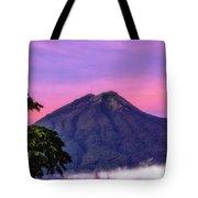 Water Volcano, Guatemala Tote Bag